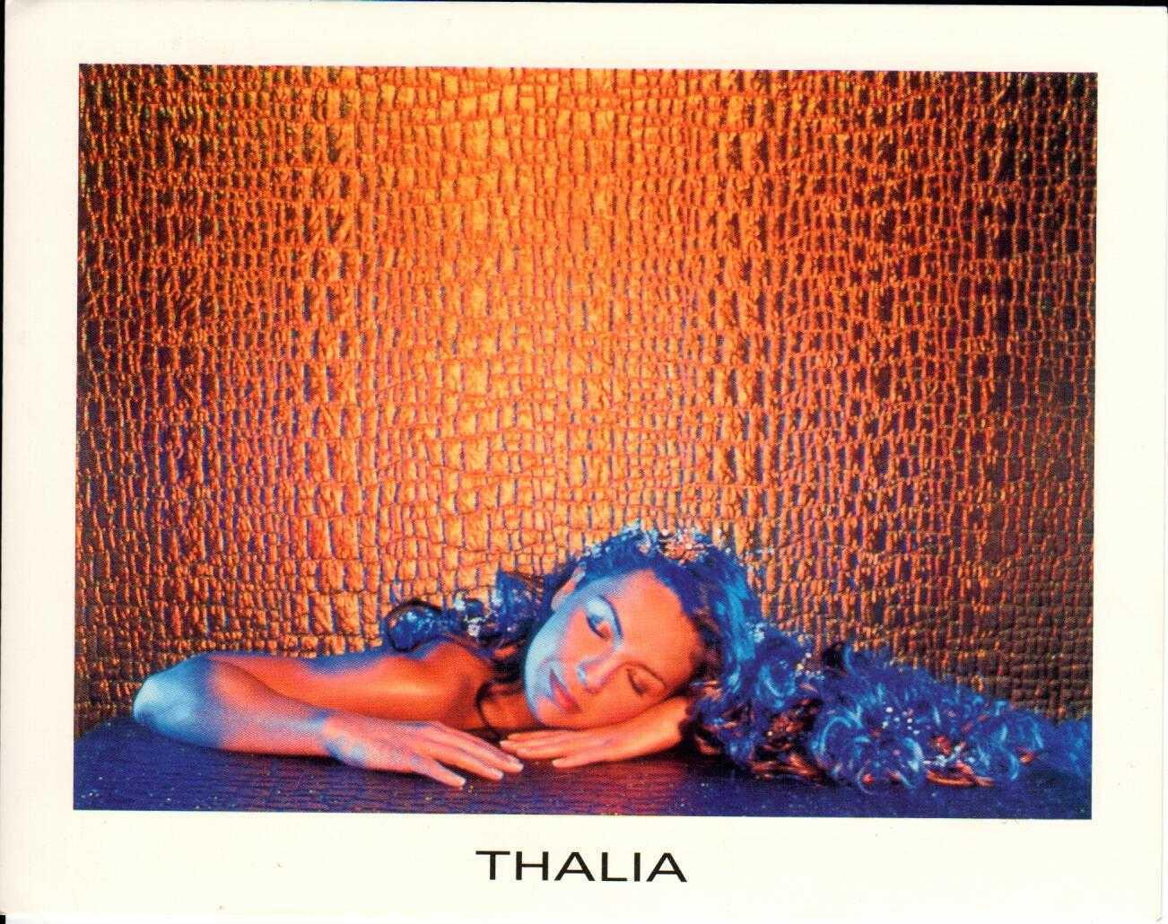 "THALIA Rosalinda 2000 US 7"" X 5"" Official Two Sided Postcard"