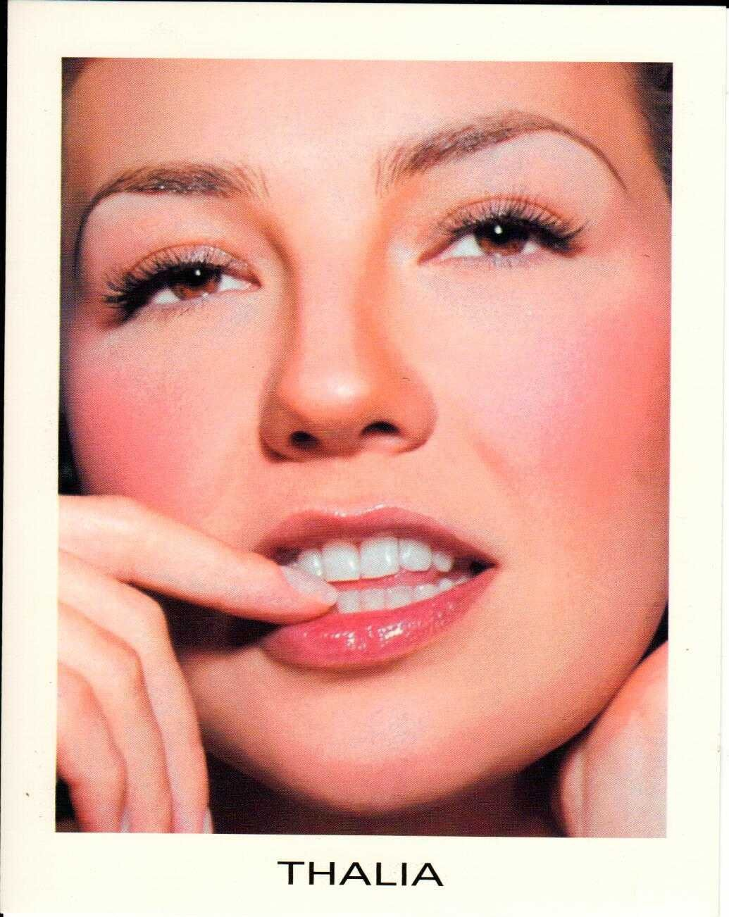 "THALIA Arrasando 2000 US 5"" X 7"" Official Two Sided Postcard"