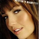 "THALIA Bitch'n Bad 2000 US 5"" X 7"" Official Two Sided Postcard"