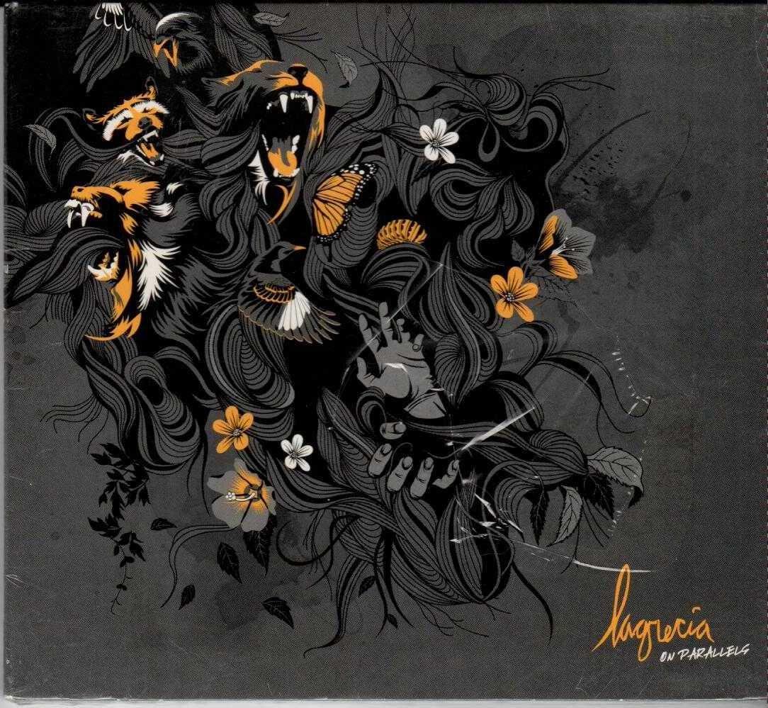 LAGRECIA On Parallels 2008 US 11 Track CD Album