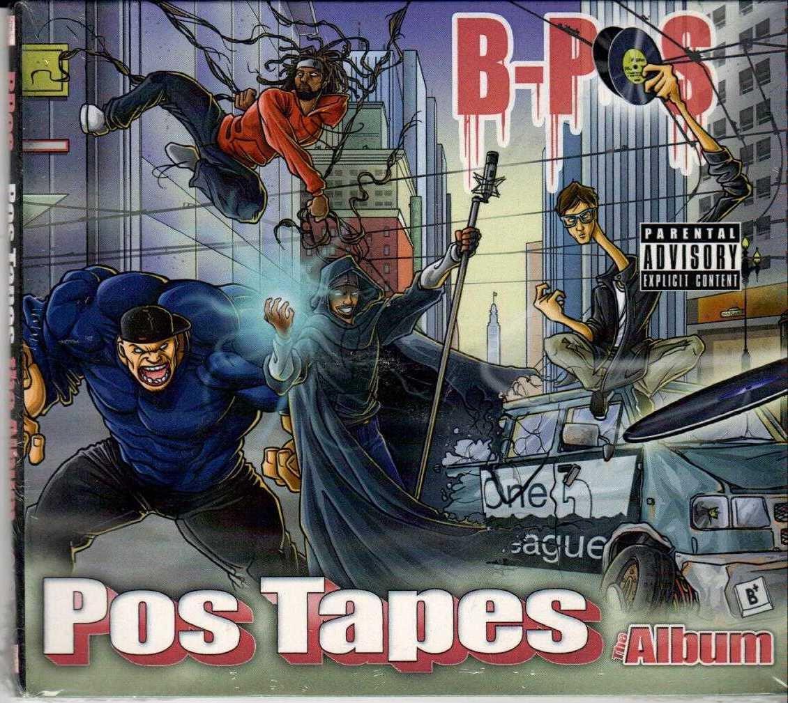 B-POS Pos Tapes The Album 2012 US 17 Track CD Album