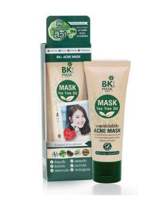 BK Facial Mask Acne Mask Tea Tree Oil