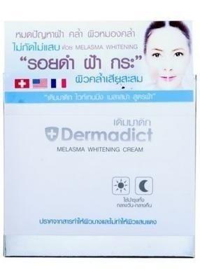 Dermadict Melasma Whitening Cream -reduce black & red spot 50g