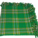 "New Irish Tartan FlyPlaid Highland Kilt Fly Plaid National Tartan 48"" X 48"""