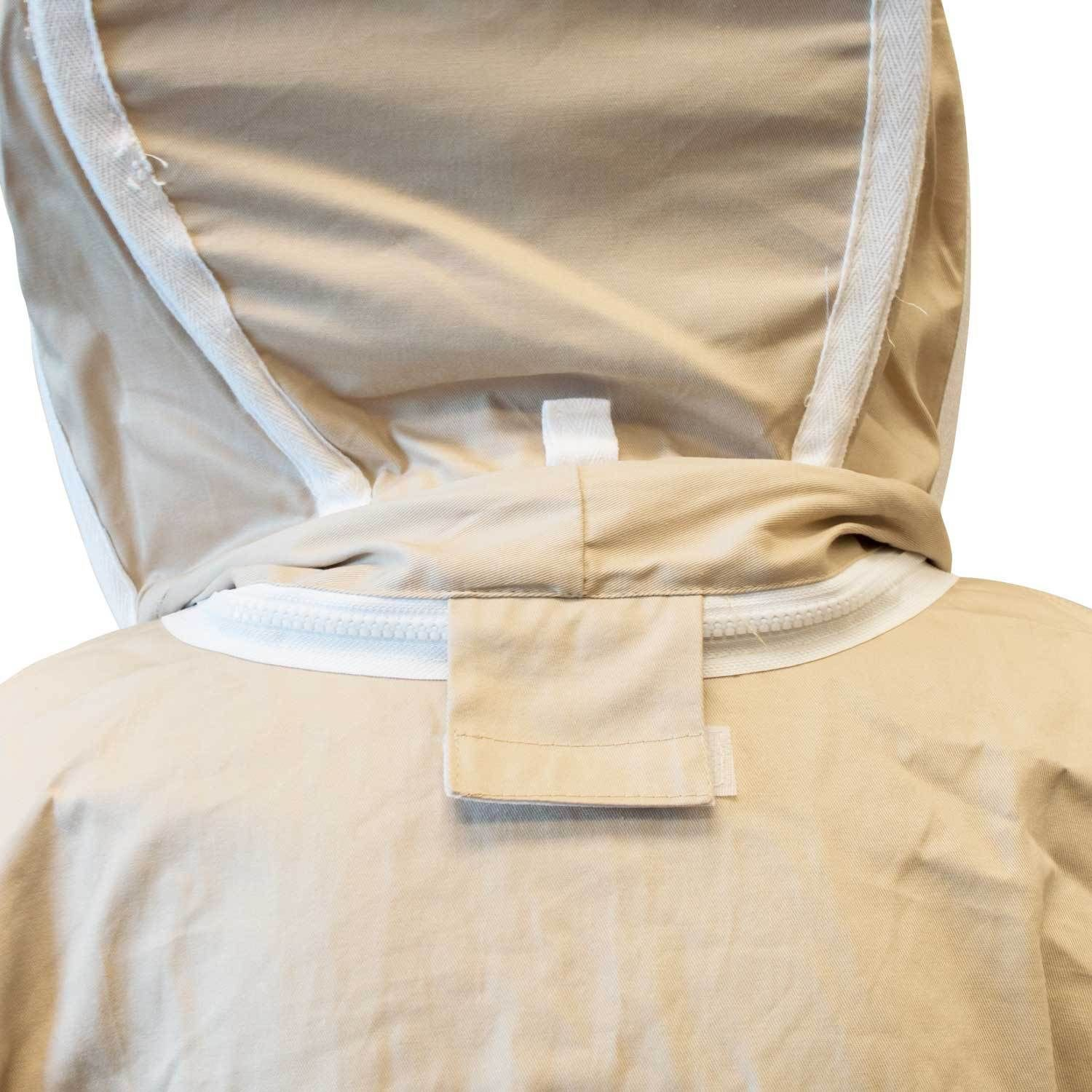 Extra Large Size Cotton Beekeeper Bee Suit Animal Handling Pest Control Fence Veil protection