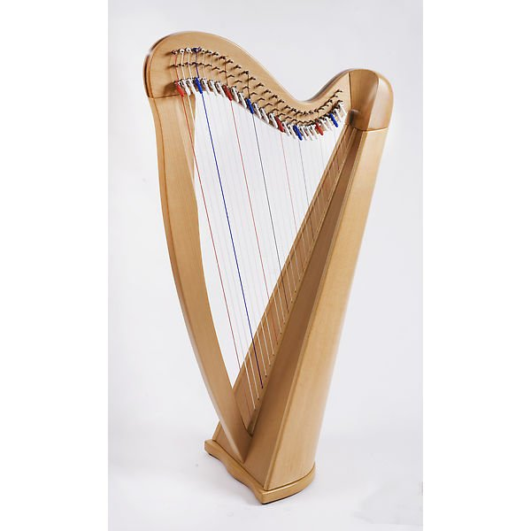 Aster 27 Lever Harp 27 Strings with Deluxe Carry Bag