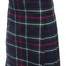 Size 46 Scottish Highland Modern Utility Pocket Mackenzie Tartan Prime Active Men kilts