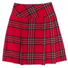 Size 34 Royal Stewart Ladies tartan kilt Ladies Utility kilt