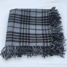Gray Watch Scottish Kilt Tartan Fly Plaid Highland Kilt Gray Watch Fly plaid Shawl