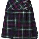 New Ladies MacKenzie Tartan Scottish Mini Billie Kilt Mod Skirt Size 48
