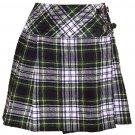 Ladies Dress Gordon Tartan Mini Billie Kilt Mod Skirt sz 42 waist Girls Mini Billie Skirt