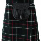 Size 36 Mackenzie Tartan Kilt Traditional Highlands Mackenzie 5 Yards Tartan Kilt