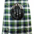 Waist 32 Dress Gordon Tartan Kilt Traditional Highland Dress Gordon 5 Yards Kilt