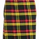 38 Size Traditional Highland Buchanan Tartan Kilt Scottish Traditional Buchanan Tartan Kilt 5 Yards