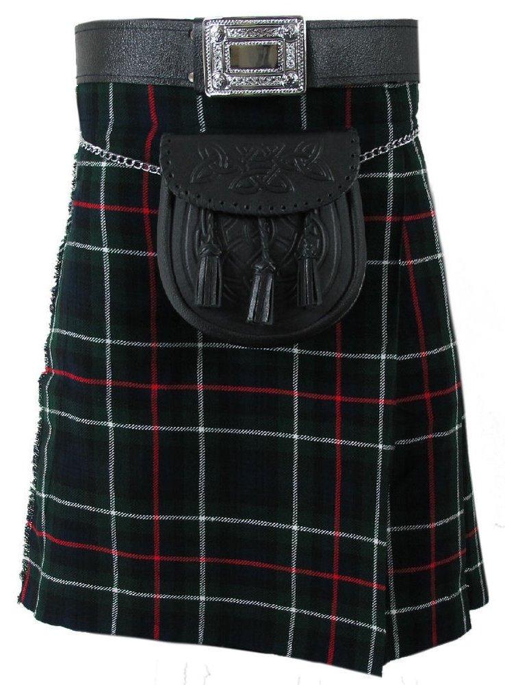 Size 44 Mackenzie Tartan Kilt Traditional Highlands Mackenzie Tartan 8 Yards Kilt