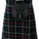 Size 42 Mackenzie Tartan Kilt Traditional Highlands Mackenzie Tartan 8 Yards Kilt