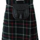 Size 38 Mackenzie Tartan Kilt Traditional Highlands Mackenzie Tartan 8 Yards Kilt