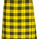 Custom Size McLeod of Lewis Highland Tartan Kilt Waist 38 Size Traditional 8 Yard Tartan Skirt