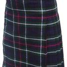 Custom Size Mackenzie Highland Tartan Kilt Waist 42 Size Traditional 5 Yard Tartan Skirt
