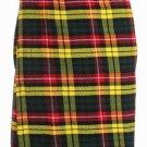 Active Men Waist 56 Size Handmade Buchanan Tartan Kilt Custom Size Traditional 5 Yard Scottish Skirt