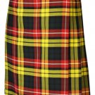 Traditional 8 Yard Kilt Scottish Men's Kilt Size 42 Waist Casual Kilt Buchanan Tartan Skirt
