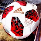 Adidas Telstar 18 World Cup Top Replica Ball - Knockout Rounds (White/Solar Red)