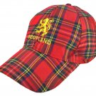 Scottish Tartan Base Royal Stewart Tartan Golf Baseball Cap