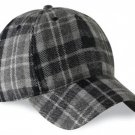 Scottish Gray Watch Tartan Golf Baseball Cap Polo Hat