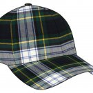 Scottish Dress Gordon Tartan Golf Baseball Cap Polo Hat