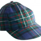 Scottish Pride of Scotland Tartan Golf Baseball Cap Polo Hat