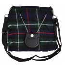 Scottish Tartan Kilt Shape Ladies Bag, Purse, Sponge Bag, Available In Mackenzie Tartan