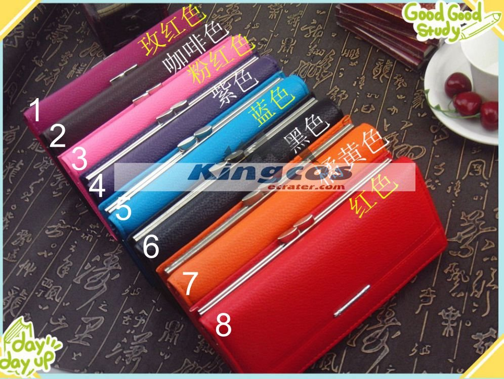 fashion Wallet Women Clutch Change Purses Carteira Feminina Women Purse card holder free shipping