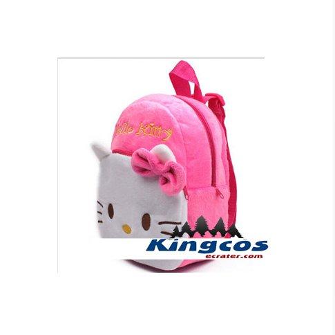 Children's gifts kindergarten boy backpack Plush baby children school bags plush toy bags A2