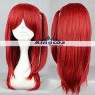 60cm Medium Length Heat Resistant Red MAGI-Morgiana Wig