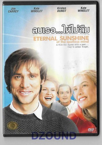 Eternal Sunshine of the Spotless Mind - Jim Carrey Kate Winslet - THAI DVD