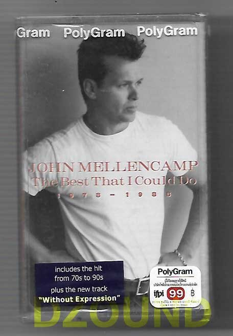 JOHN MELLENCAMP - THE BEST THAT I COULD DO 1978-1988 - CASSETTE  1997