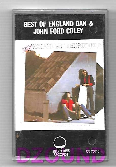 BEST OF ENGLAND DAN & JOHN FORD COLEY - THAI MUSIC CASSETTE