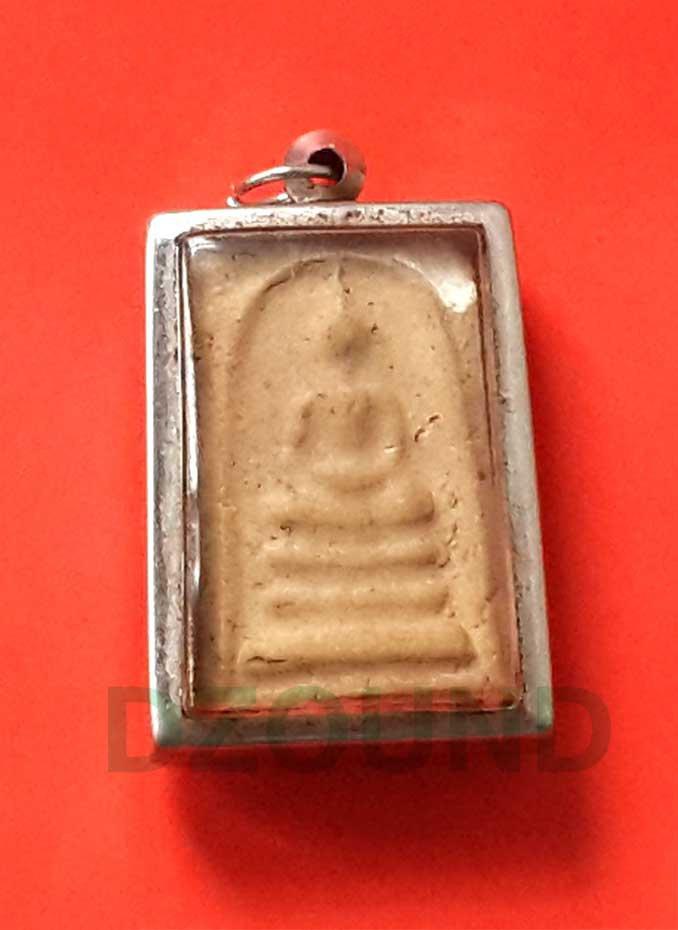PRA SOMDEJ with LOCKET - ANTIQUE THAI BUDDHA AMULET
