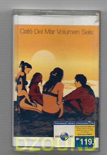 Cafe Del Mar Volume 6 by Various Artists - MUSIC CASSETTE 1999