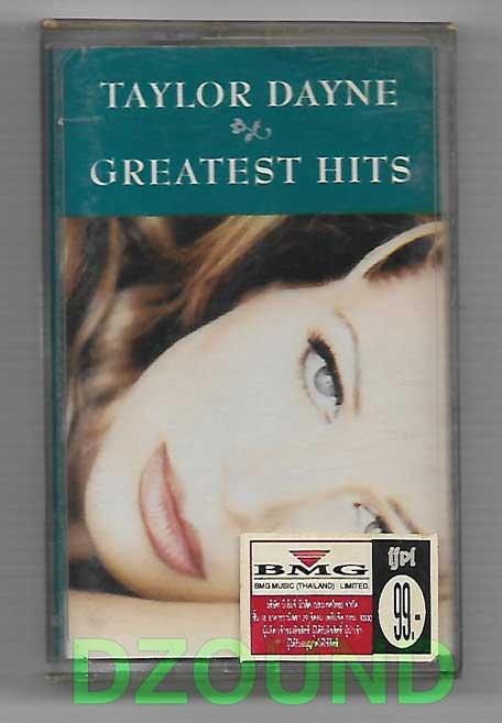 TAYLOR DAYNE - GREATEST HITS - THAI MUSIC CASSETTE 1995