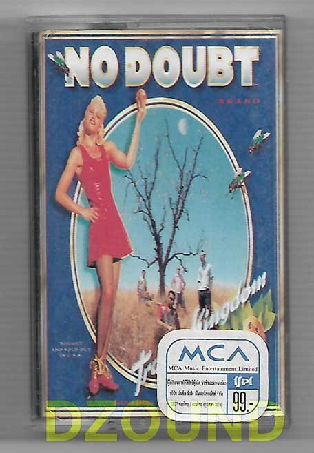 NO DOUBT - TRAGIC KINGDOM - THAI MUSIC CASSETTE 1995