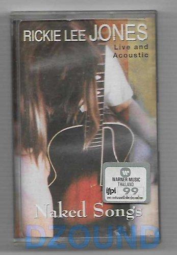 RICKIE LEE JONES - NAKED SONGS - MUSIC CASSETTE 1995