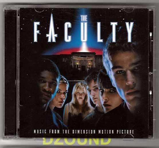 OST -  THE FACULTY - Original SoundTrack CD -  Jordana Brewster, Clea DuVall, Laura Harris