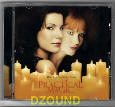 OST -  PRACTICAL MAGIC - Original SoundTrack CD -  Sandra Bullock, Nicole Kidman