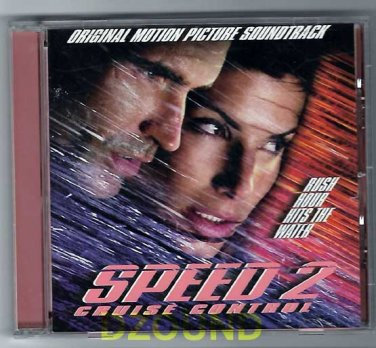 OST -  SPEED 2 Cruise Control - Original SoundTrack CD -  Sandra Bullock, Jason Patric