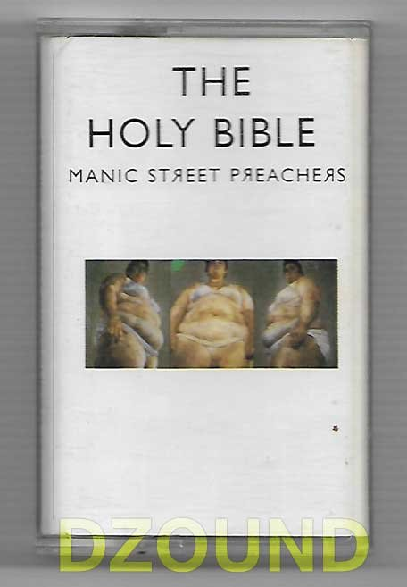 MANIC STREET PEACHERS - THE HOLY BIBLE - MUSIC CASSETTE 1994