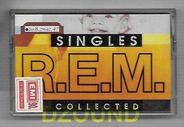 R.E.M. - SINGLES COLLECTED - MUSIC CASSETTE 1994