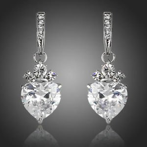 Fashion Jewellery Wedding Prom Party Prom Swiss Cubic Zirconia Drop Earrings