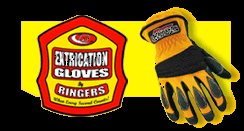 RINGER EXTRICATION GLOVES YELLOW SHORT CUFF