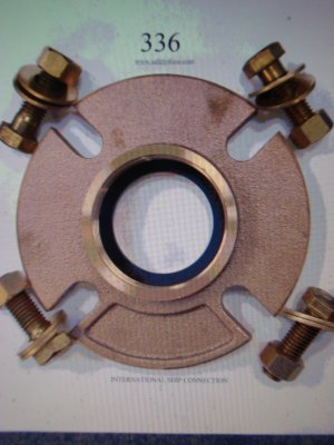 International shore flange